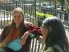 Johanna Lawrenson and Pratibha Gautam
