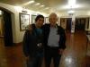Daniel Ellsberg and conference volunteer, Matt